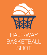 Half-Way Basketball Shot